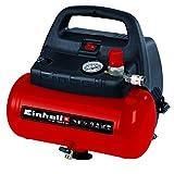Einhell Kompressor TC-AC 190/6/8 OF (1.100 W, max. 8 bar, öl-/servicefreier Motor, 6...