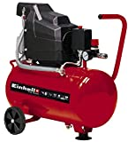 Einhell Kompressor TC-AC 190/24/8 (max. 8 bar, 24 l-Tank, Ölschmierung, Druckminderer,...
